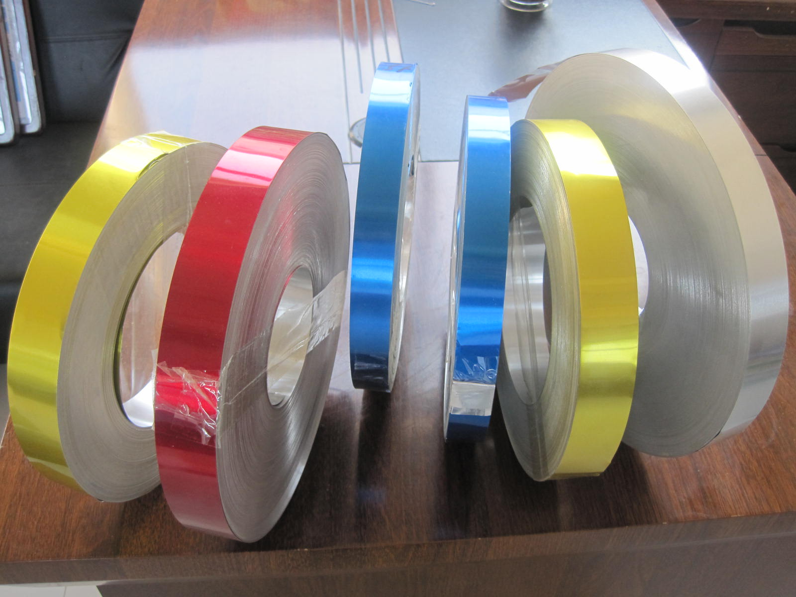 ALUMINIUM LAMP CAP SHEET IN COIL